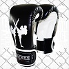 FIGHTERS - Boxhandschuhe / Giant / Schwarz / 10 oz