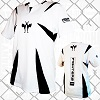 FIGHTERS - Kick-Boxing Shirt / Competition / Weiss / Large